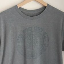 Element - Large - Grey T-shirt with Element Logo - Good Condition