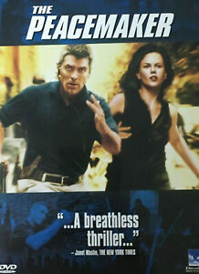 THE PEACE MAKER DVD George Clooney Movie 1997 Thriller Action THE PEACEMAKER