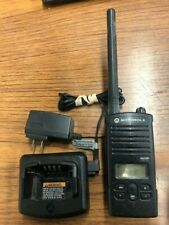 Motorola RDV2080D VHF 2W 8Ch Two Way Radio w/Battery