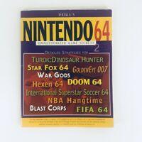 Nintendo 64 Unauthorized Game Secrets Volume 2 Prima 1997 Cheat Codes Strategies