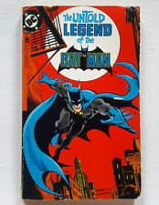 RARE UNTOLD LEGEND OF THE BATMAN FIRST PRINTING AUGUST 1982 PAPERBACK BOOK