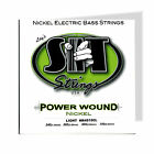 Bass Strings Power Wound SIT Nickel Light Set NR45100L 088902 for sale