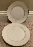"Richard Ginori FIRENZE (Vecchio Shape) 8 5/8"" Luncheon Plates Set of 2"