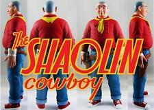 SHAOLIN COWBOY RED COMIC BOOK EDITION DESIGNER VINYL TOY FIGURE GEOF DARROW