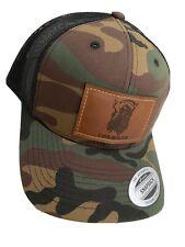 Forward Observations Group x Bald Bros BDU M81 Woodland SnapBack Hat FOG Reaper