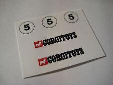 Corgi OHMSS 1010 James Bond VW Beetle Rockets Stickers - B2G1F