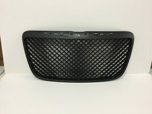 Front Hood Grille Black Mesh Honeycomb Style For '2011-'2014 Chrysler 300/300C