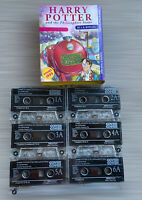 Harry Potter and the Philosopher's Stone 6 Audiotapes Unabridged Cassettes