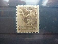 189 ** MNH 20c+20c bisterbruin - brun-bistre oorlogsinvaliden - invalides de gue