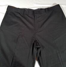 New With Tags AXIS LA Men's Black w/ Slight Pin Striped Slacks Size 40X30