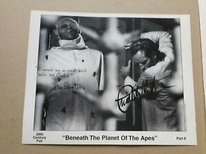 "CHARLTON HESTON DON PEDRO COLLEY signed 10""x8"" PHOTO with UACC RD C.O.A. POTA"