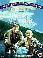 Six Days, Seven Nights DVD (1999) Harrison Ford, Reitman (DIR) cert 12
