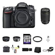 Nikon D7100 Digital SLR Camera w/70-300mm Lens 8GB Full Kit