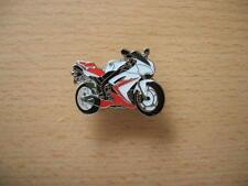 Pin Yamaha YZF-R1 / YZFR1 rot/weiß Modell 2007 Motorrad 1035 Motorbike Spilla