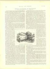 1891 A Russian Easter Custom Picnic Among Graves Finnemore
