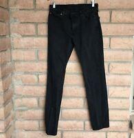 Levi's Mens Jeans 511 Slim Fit Sz 30 x 32 Black Tapered Leg Stretch Denim Skinny