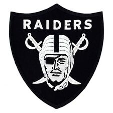 """Oakland Raiders Huge Size 5"""" Iron on Patches Embroidered Badge Applique Patch FN"""