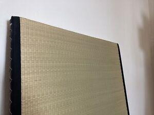 Reisstroh Matte Japan Igusa Grass Tatami  100x200 cm 5,5 Dick Neuwertig Futon