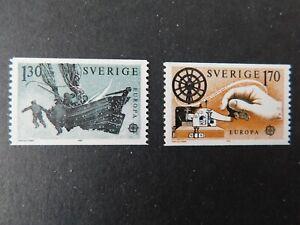"SWEDEN - 1979 "" EUROPA Set 2 "" Un. Mint.     SG.995/96."