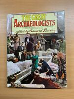 """1976 Grande Pesado """"The Great Archaeologists"""" Illustrated Tapa Dura Libro ( Xx)"""