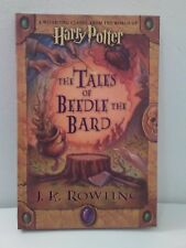 Harry Potter Tales of Beedle the Bard J K Rowling 1st Edition Hardcover