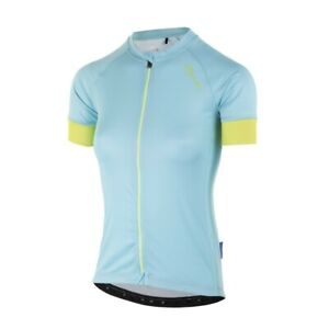 ROGELLI MODESTA LADIES CYCLING JERSEY SS TURQUOISE/YELLOW