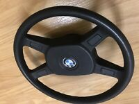 BMW 325e 318i 4 Spoke Steering Wheel E30 85-91 OEM 1 152 896.4 318 325