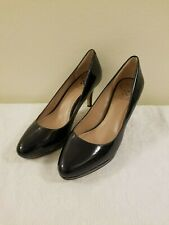 Vince Camuto Women's Black Patent Leather Pump - Size 6.5