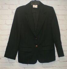 Pendleton Womens Vintage Black Two Button Size 8 Lined Blazer