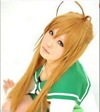 Highschool Of The Dead Miyamoto Rei Long Anime Cosplay Party Full Wig + Gift Cap