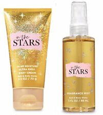 Bath & Body Works In The Stars Ultra Shea Body Cream 2.5 oz. Fragrance Mist 3 oz