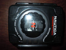 VTG Nautica Competition Weather Resistant /FM/AM Portable Cassette Tape Player