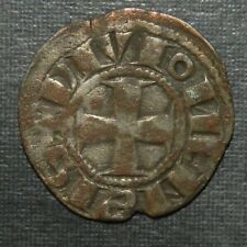 Medieval Silver Coin Lot 1000-1200's Ad Crusader Templar Cross Ancient Antique