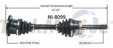 Front Left or Right CV Axle Shaft SurTrack NI-8099 for Nissan Frontier 98-04 4WD