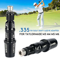 Golf Shaft Adapter Sleeve .335 Driver Fairway RH For TaylorMade M3 M4 M5 M6  y