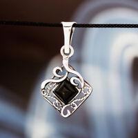 Onyx Silber 925 Anhänger Sterlingsilber Damen Schmuck A208
