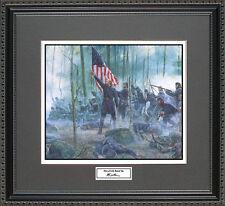 Mort Kunstler HERO OF LITTLE ROUND TOP Framed Print Civil War Wall Art Gift