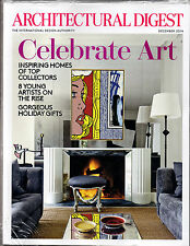 Architectural Digest -Celebrate Art - Homes of Top Collectors-8 Artists Dec 2014