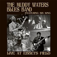 The Muddy Waters Blues Band feat BB King – Live At Ebbets Field (2015)  CD  NEW