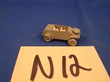 N12 Vintage Ho Scale German ? Army Car Scenic