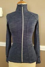 Amazing Womens Blue Athletic Jacket By Athleta!! Size XXS!!