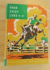 Vtg 1961 Textbook From Every Land Laidlaw Early Reader