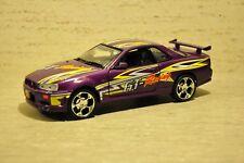 Motormax's 2002 Nissan Skyline GT-R - NIB - 1:24 - PURPLE