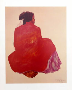 R.C. Gorman Angelina II Native Southwest Art Print 24 x 18