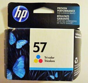 NEW in SEALED BOX Genuine HP 57 Tri-Color Printer Ink Cartridge OEM Exp Sep 2017