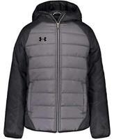 Under Armour Boys' Pronto Puffer Jacket, Pitch Gray F202, Size Large Ogu7