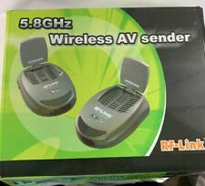 RF-Link AVS-5811 5.8GHZ Wireless TV Audio Video AV Receiver(2) & Transmitter