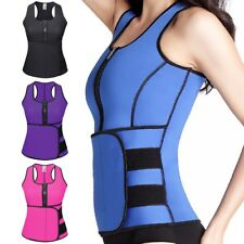 Women Waist Trainer Vest Gym Workout Slimming Adjustable Sweat Belt Body Shaper