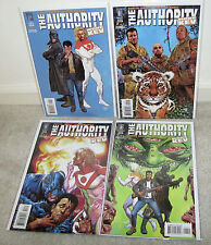 Garth Ennis The Authority More Kev Glenn Fabry 1 2 3 4 Wildstorm Comic Full Set