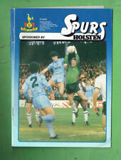 #T65.  FOOTBALL SOCCER  PROGRAM - 1984 SPURS